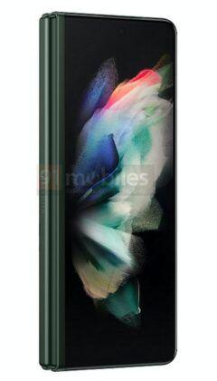 Samsung_Galaxy_Z_Fold3_green_color_render_06