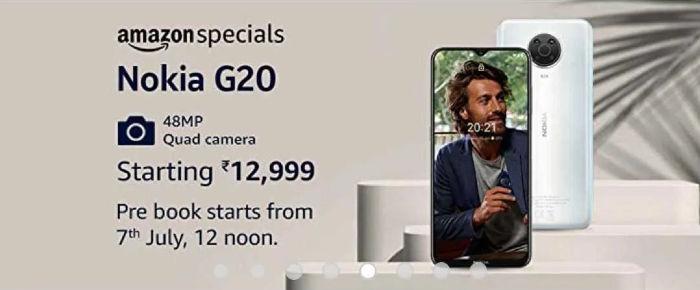 Nokia G20 amazon