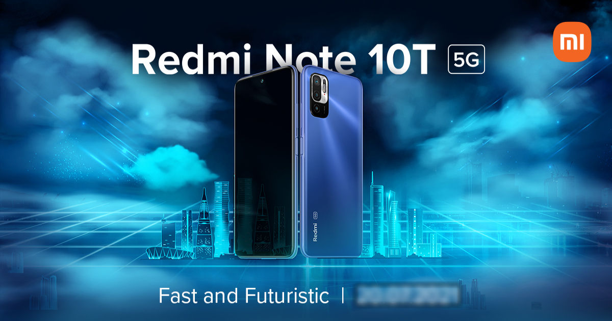 Redmi Note 10T 5G will launch in India on July 20th: expected specifications
