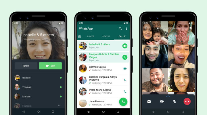WhatsApp Joinable Group Call feature