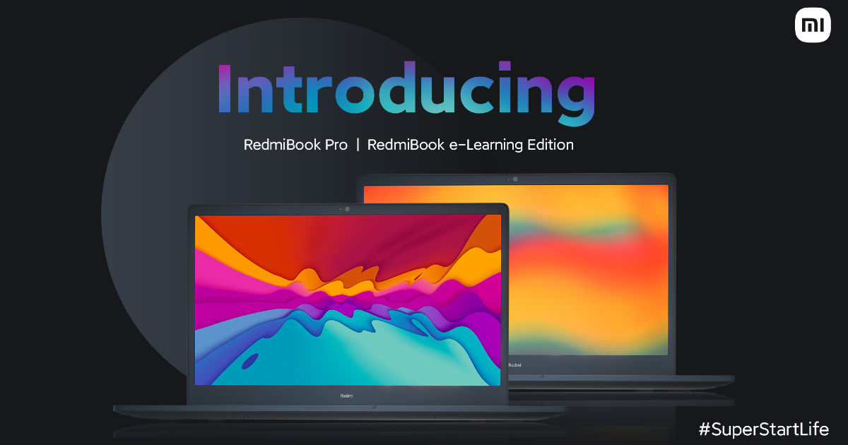 RedmiBook Pro and RedmiBook E-Learning Edition laptops