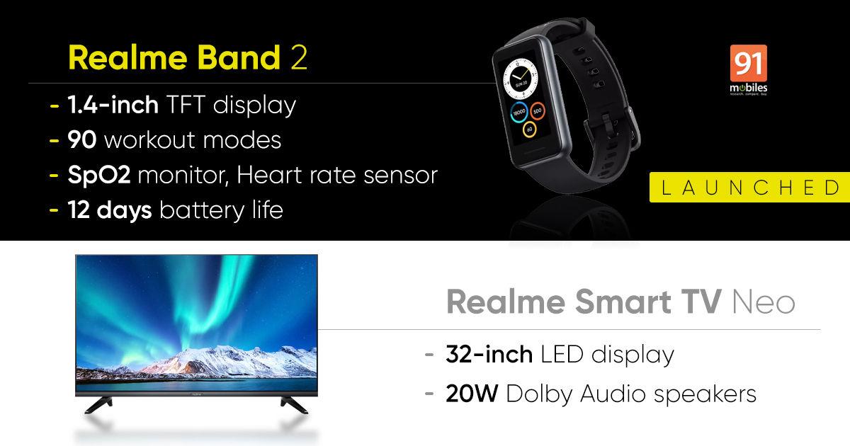 Realme Band 2, Realme Smart TV Neo