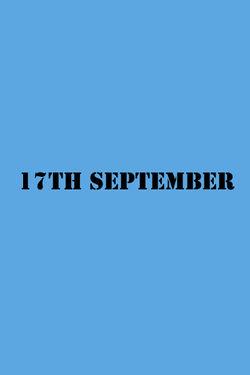 17th September