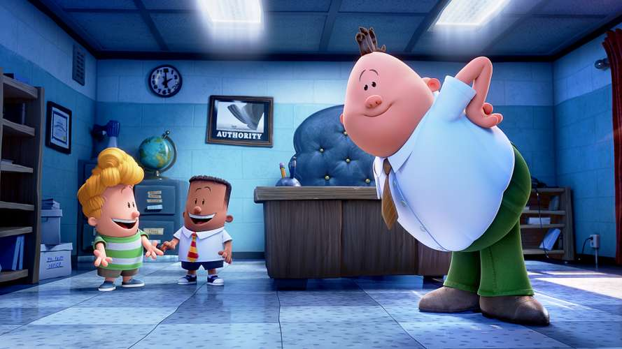 Watch Captain Underpants The First Epic Movie Online Full Movie Metareel Com
