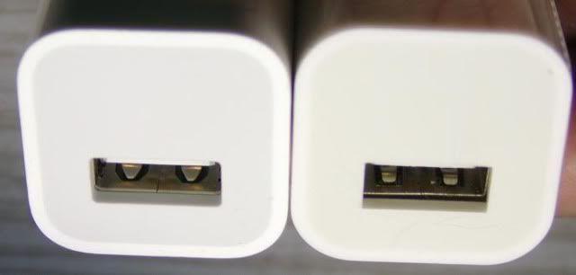 Fake charger