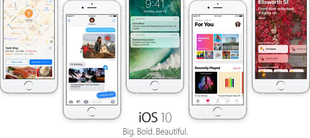iOS 10 head