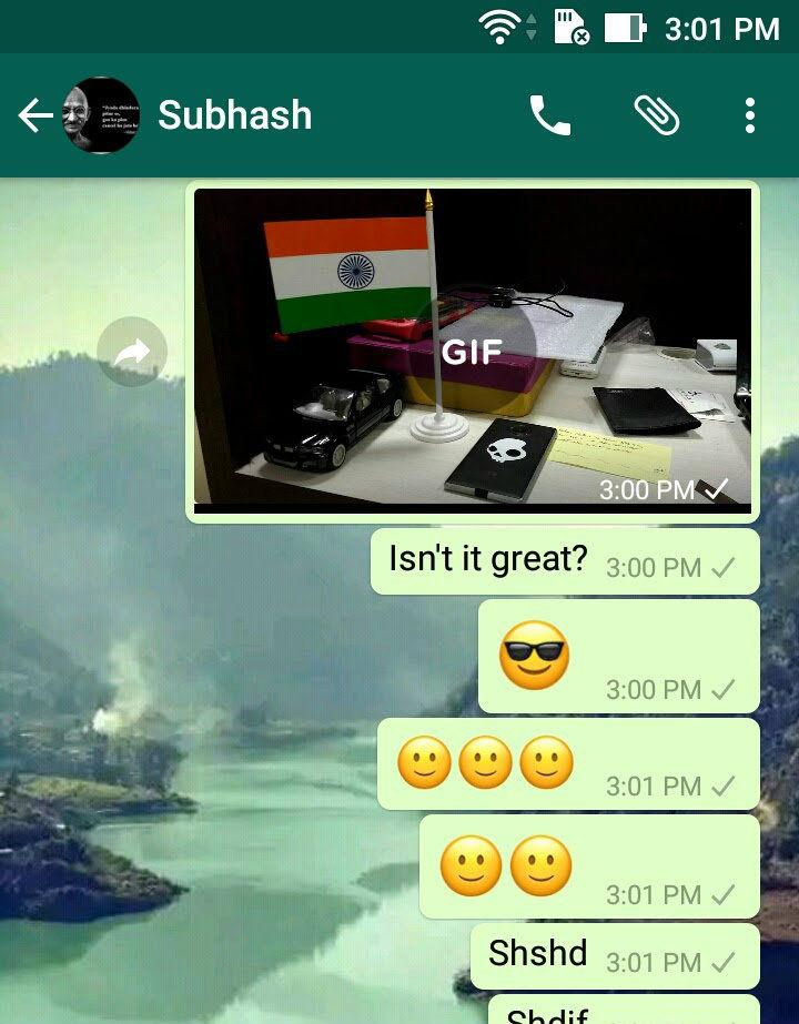 WhatsApp videos to GIF