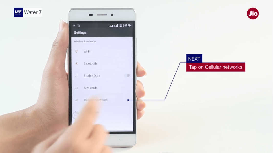 How To Setup Jio Network In A Smartphone - Pricebaba