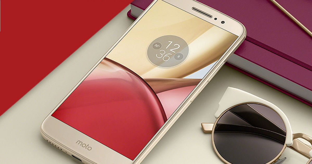 Moto M launched in India
