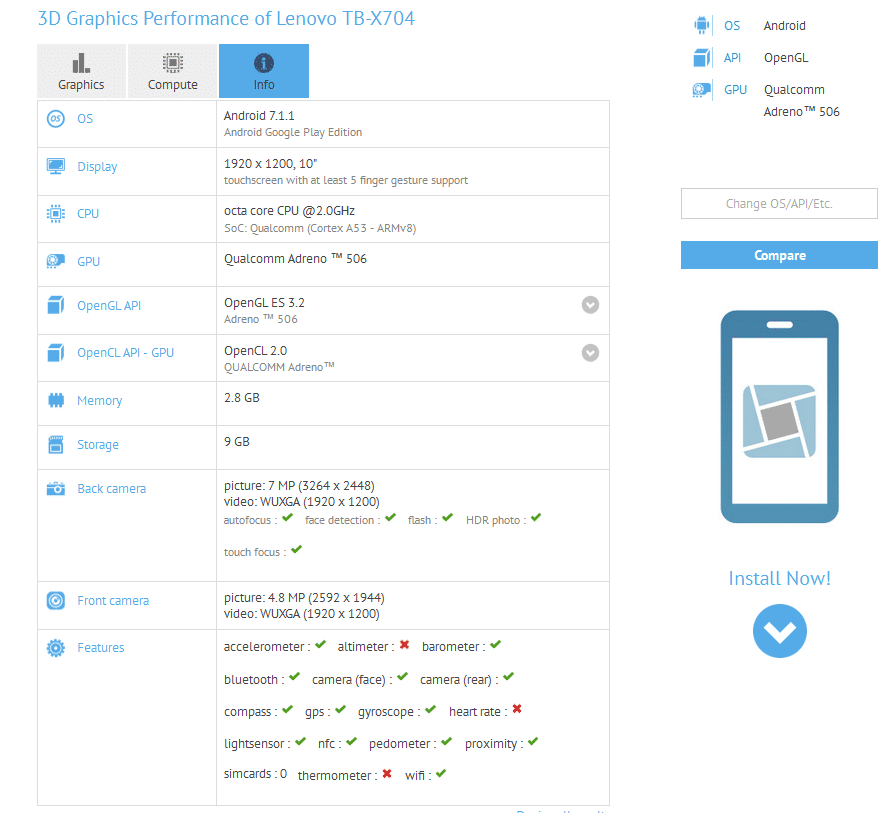 Lenovo TB-X704