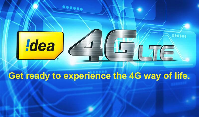Idea 4G data