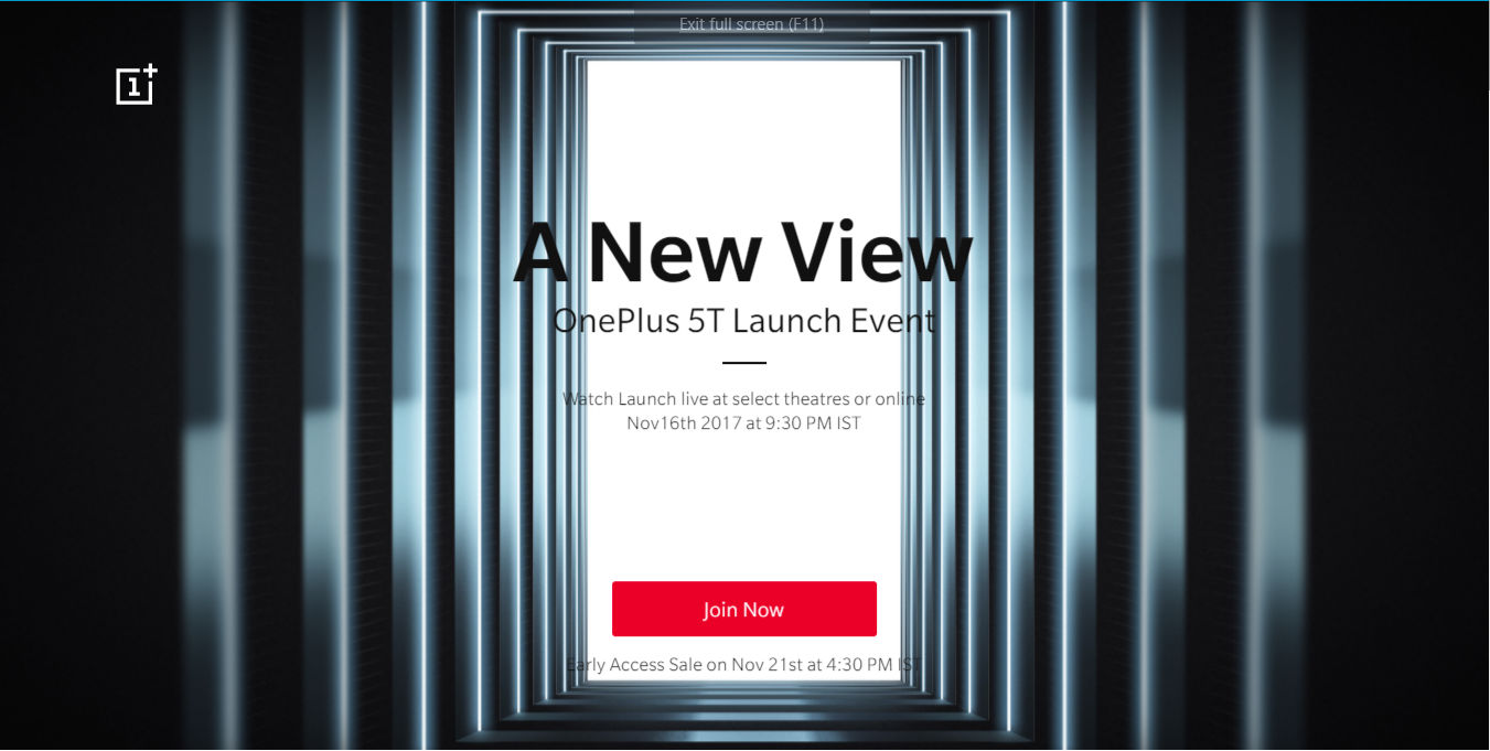 OnePlus 5T India launch event