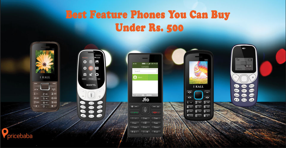61d045837d5 Best Feature Phones You Can Buy Under Rs. 500 - Pricebaba.com Daily