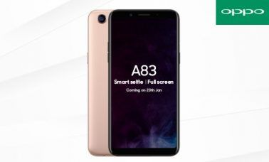 OPPO A83 India Launch January 20