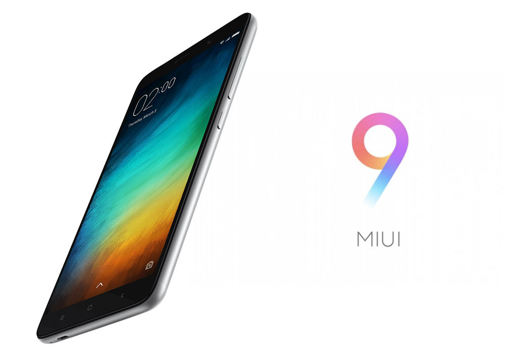 MIUI 9 Starts Rolling For the Xiaomi Redmi Note 3 [Download