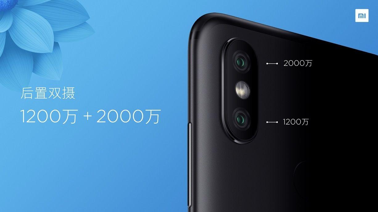 Xiaomi Mi 6X Dual Cameras