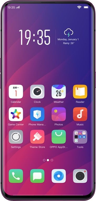 OPPO FInd X Display