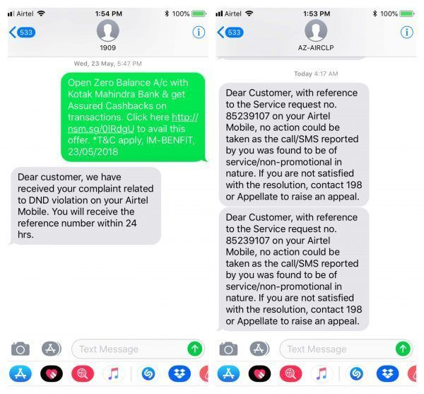 The Practical Way to Deal with SMS Spam in India - Pricebaba