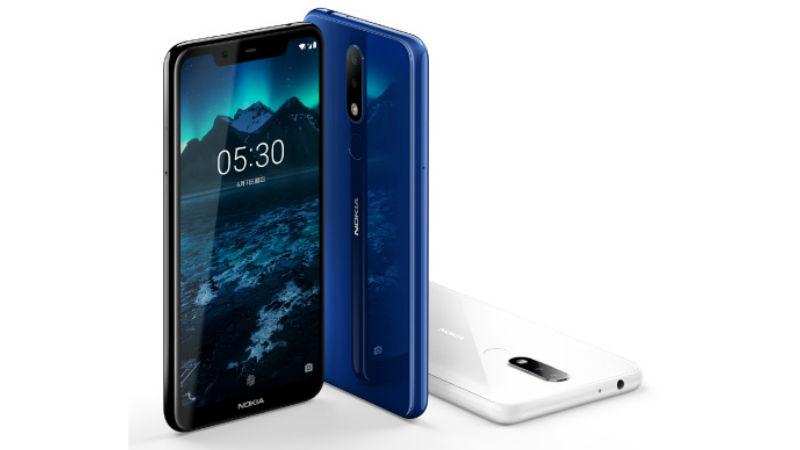 Nokia X5 Colors