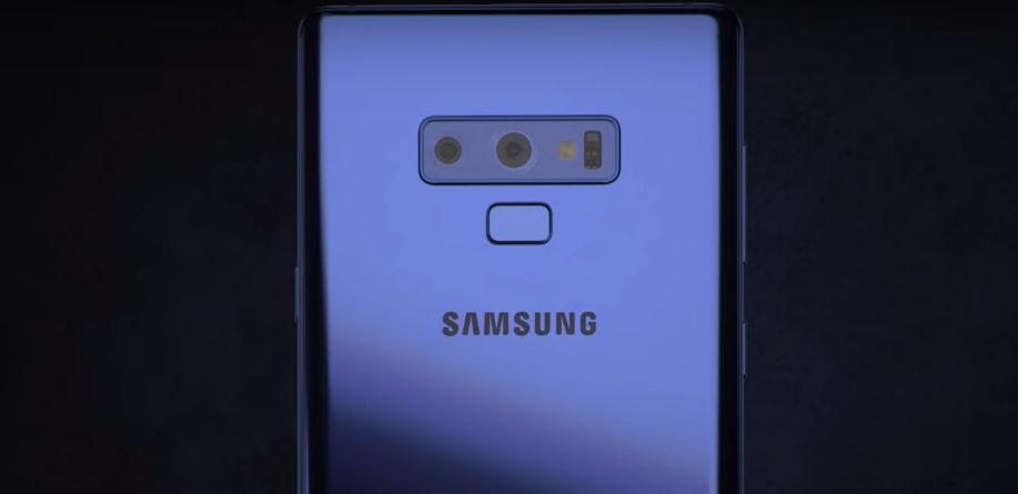 Galaxy Note 9 Dual Camera