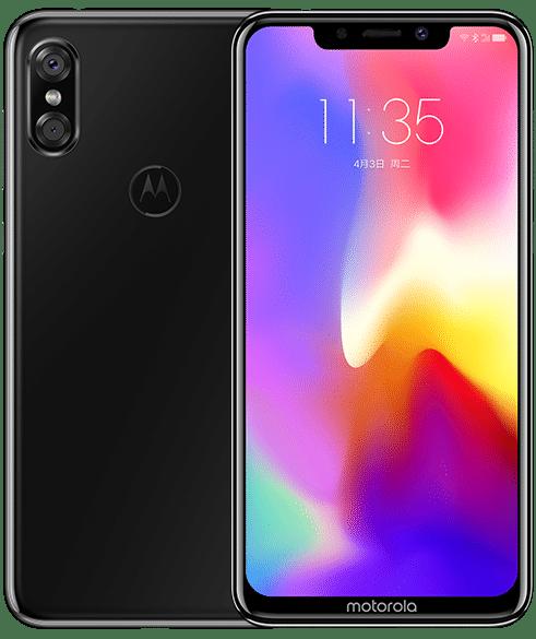 Motorola P30 Bright Black