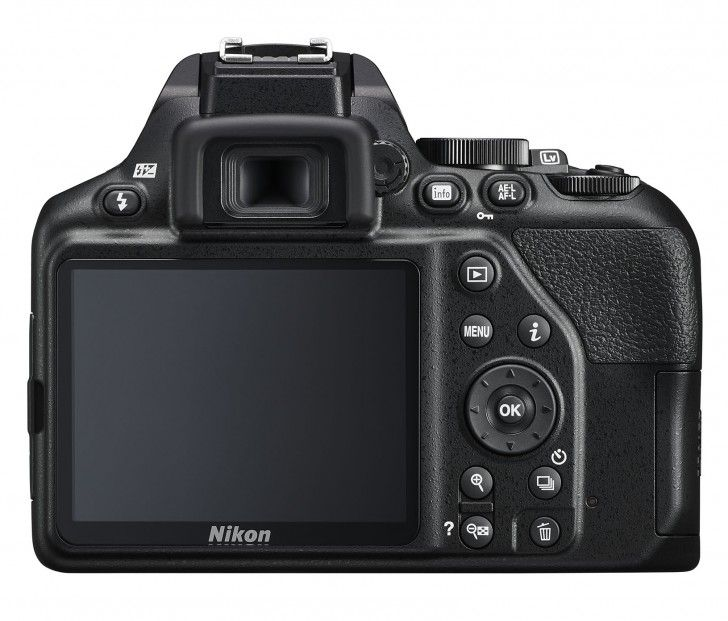 Nikon D3500 rear