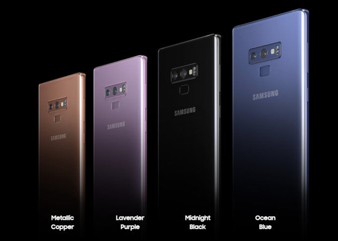 check out 842f9 e5f32 Samsung Galaxy Note 9 Priced at Rs. 67,000 Features Bluetooth ...