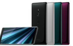 Sony Xperia XZ3 color variants
