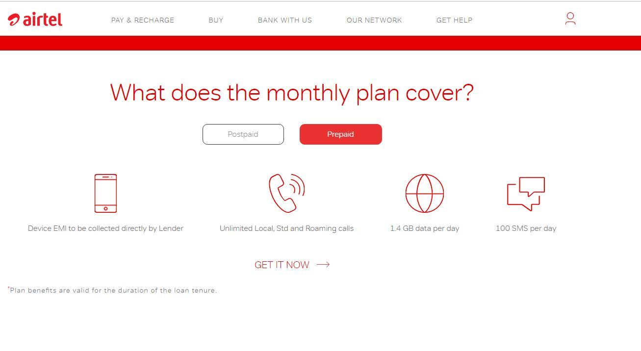 Airtel Online Store Now Lets Prepaid Users Purchase Smartphones on
