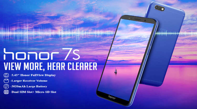 Honor 7S header