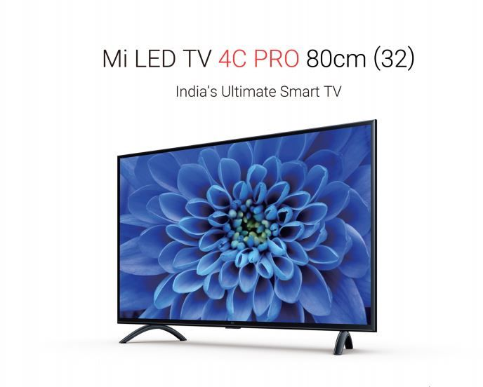 Xiaomi Launches Android-based Mi LED TV 4 Pro, 4A Pro and 4C