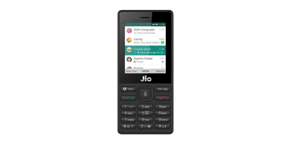 WhatsApp on JioPhone