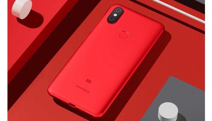 Xiaomi-Mi-A2-Red