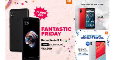 Xiaomi Redmi Y2, Redmi Note 5 Pro, Mi A2 Price Slashed