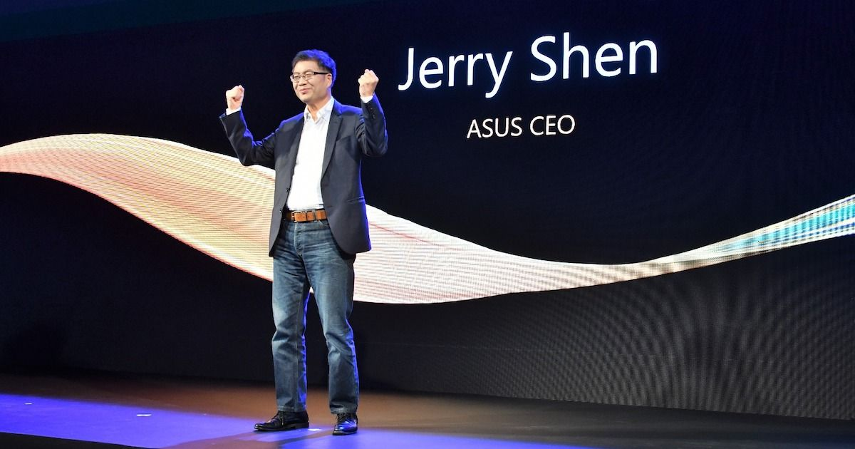 ASUS CEO Jerry Shen to Step Down as Company Shifts Focus to Gaming Phones