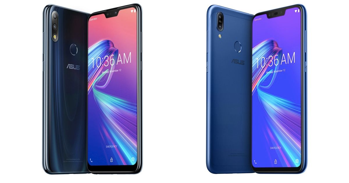 ASUS ZenFone Max Pro M2 and ZenFone Max M2 Launched in India