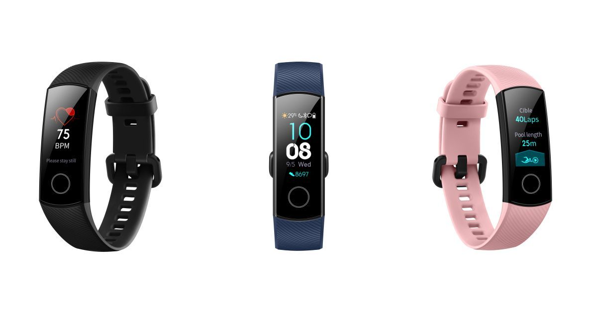 Honor Band 4 with AMOLED display and heart rate monitor launched for Rs 2,599