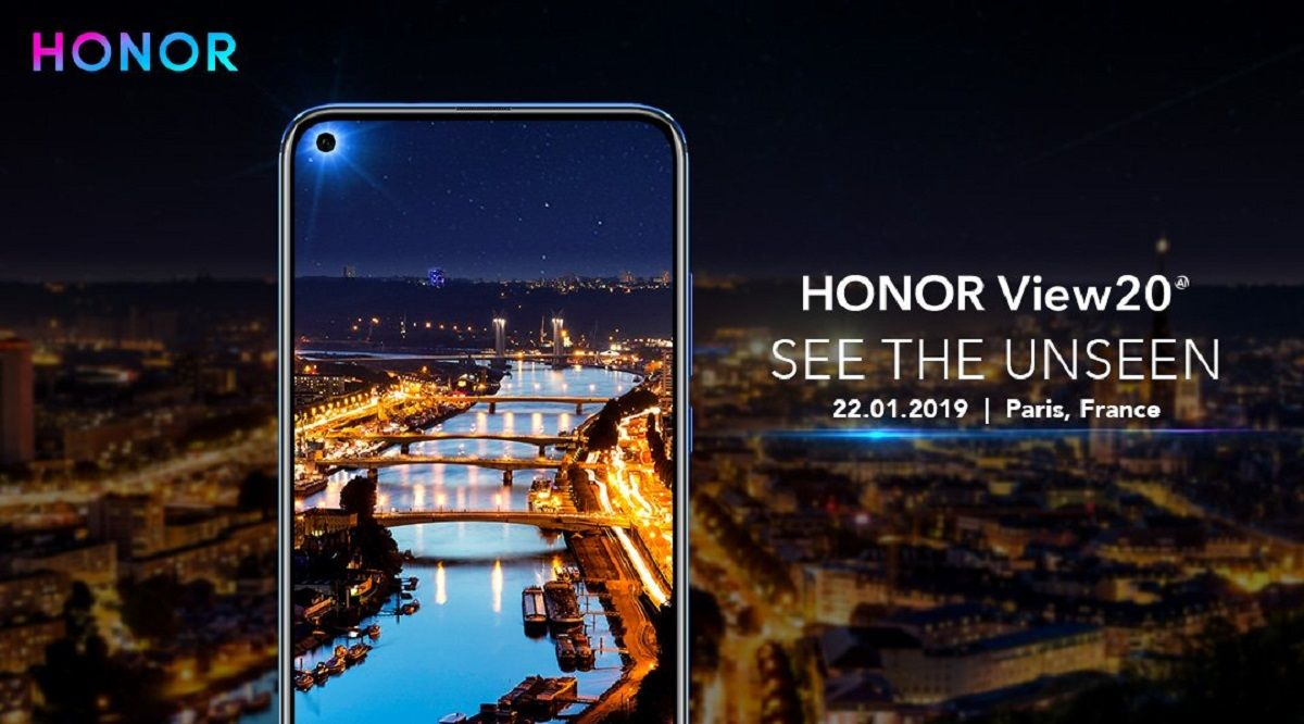 Honor View20 With 'All-View' Display and 48MP Rear Camera Announced