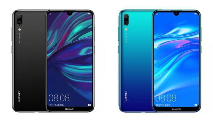 Huawei Enjoy 9 Black and Blue_