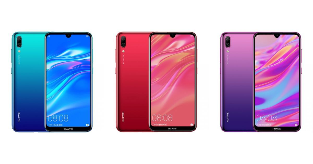 Huawei Enjoy 9 With Waterdrop Notch and Snapdragon 450 is Official
