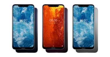 Nokia 8.1 Color Variants