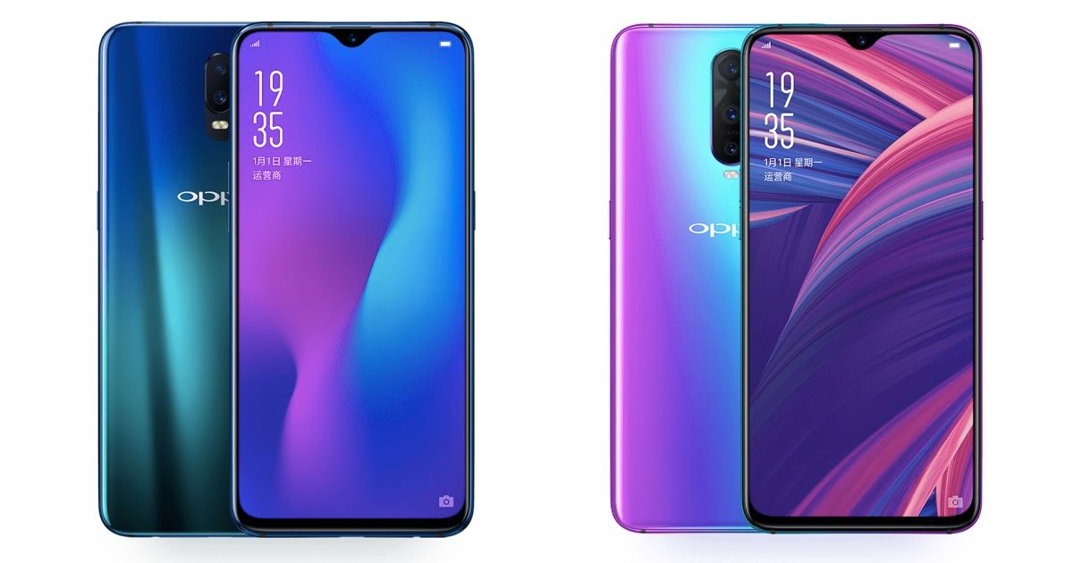 OPPO R17 and R17 Pro with In-Display Fingerprint Sensors and 8GB RAM Launched In India