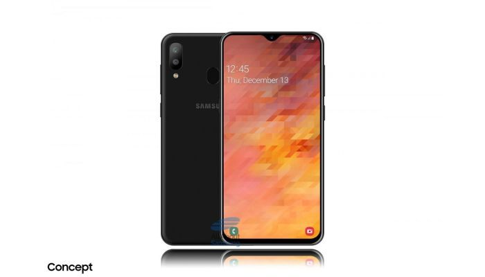 Samsung Galaxy M30 render