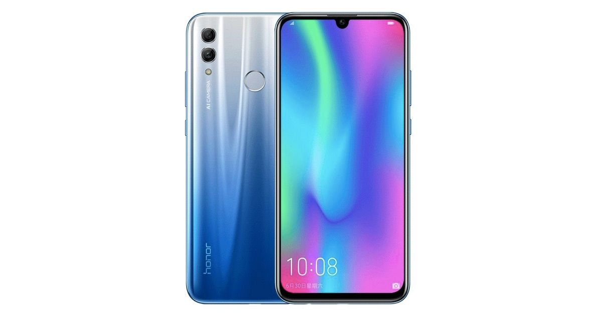 Honor 10 Lite with Kirin 710 and 24MP Selfie Camera Launched in India
