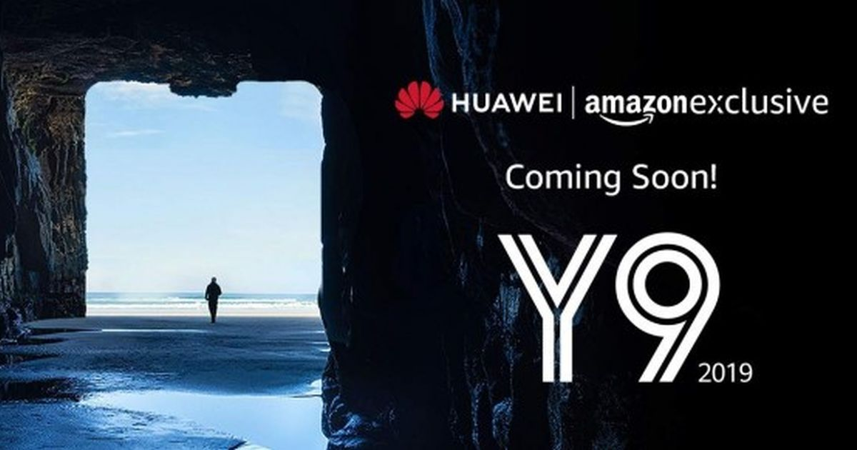 Huawei Y9 2019 Amazon India exclusive