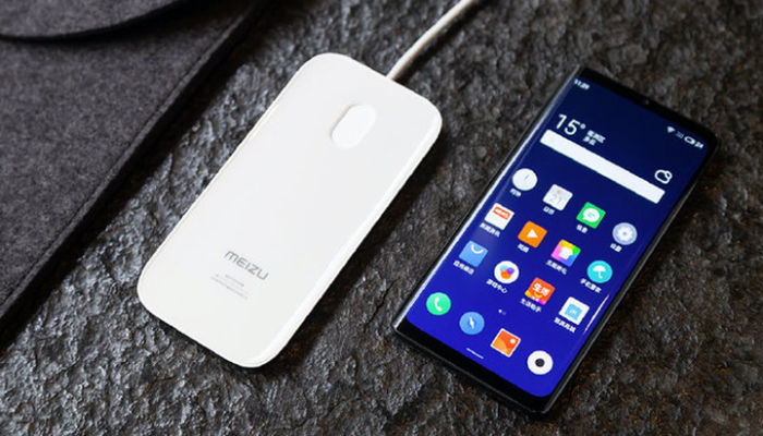 Meizu Zero with wireless charging
