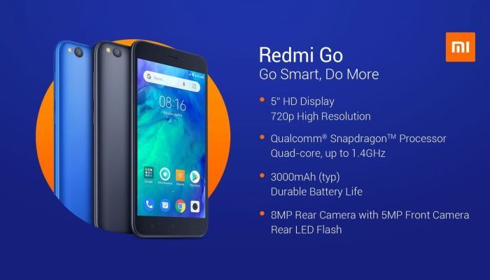 Redmi Go launched