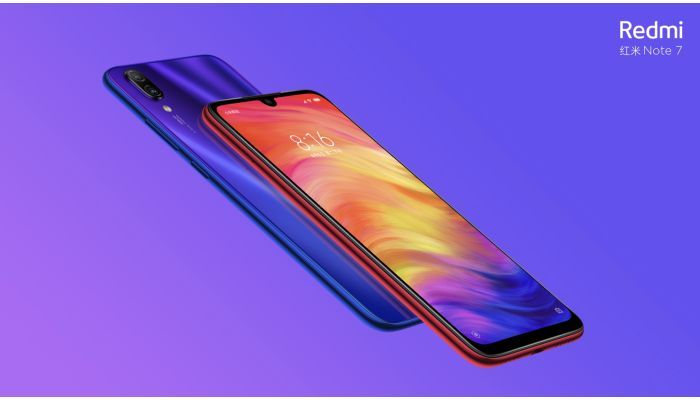 Redmi Note 7 display