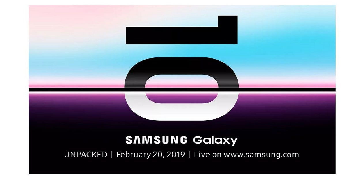 Samsung Confirms Galaxy S10 Launch On February 20th