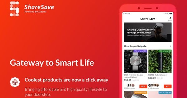 Xiaomi ShareSave launched_featured